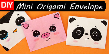 Origami Envelope Chick - Paper Crafts for Kids - Red Ted Art ... | 180x360