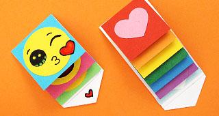Diy Mini Waterfall Card Free Template Download Samples