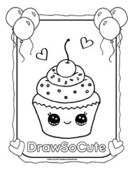 Vegetable food with faces coloring pages || COLORING-PAGES ... | 245x189