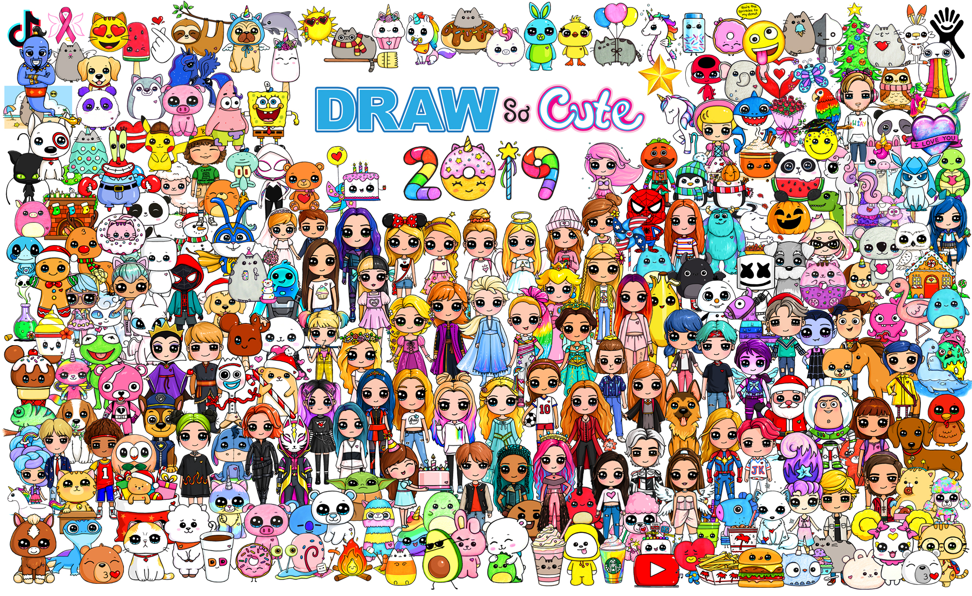 Draw So Cute - Cute Drawing Videos, Coloring Pages and ...
