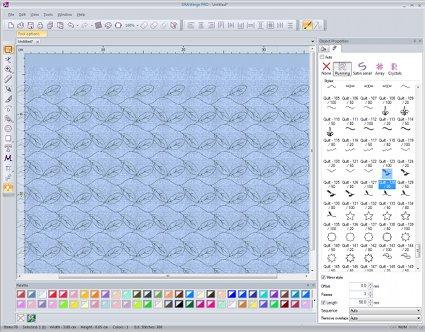 Quilt designing 1