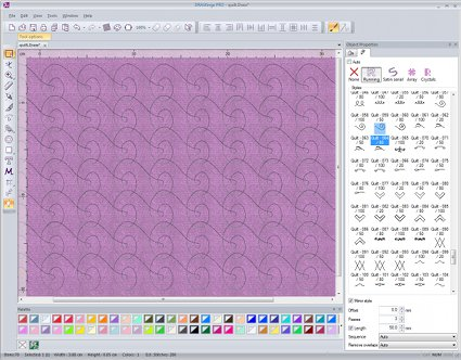 Quilt designing 2