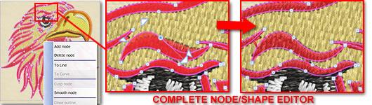Complete Node/Shape editor