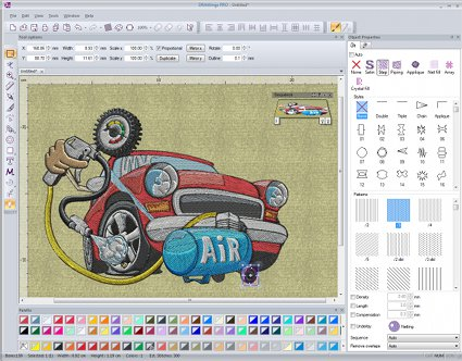 Embroidery digitizing and designing 3