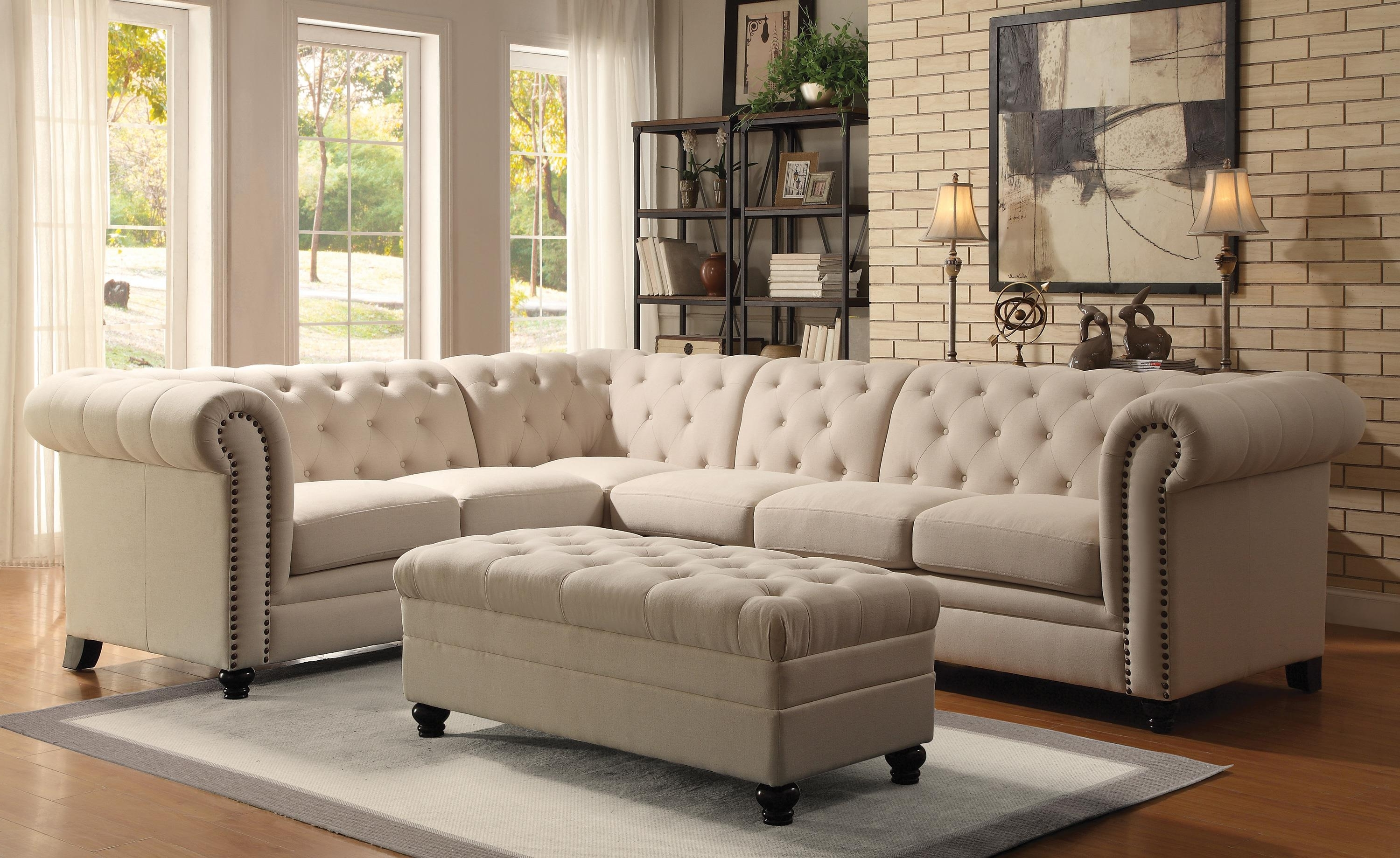 20 collection of tufted sectional sofas