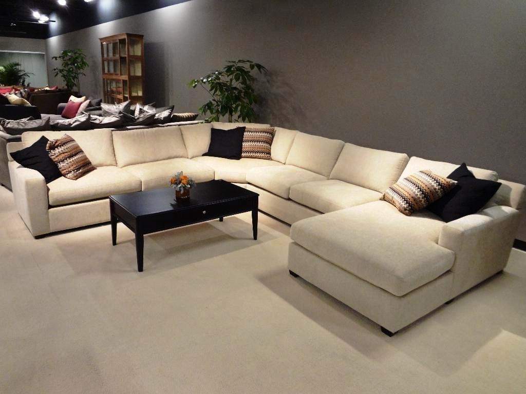 u shaped leather sectional sofas