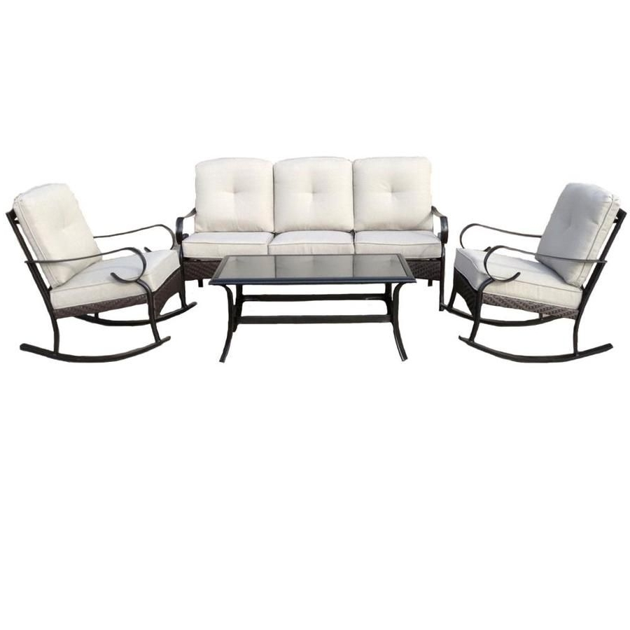 steel patio conversation sets