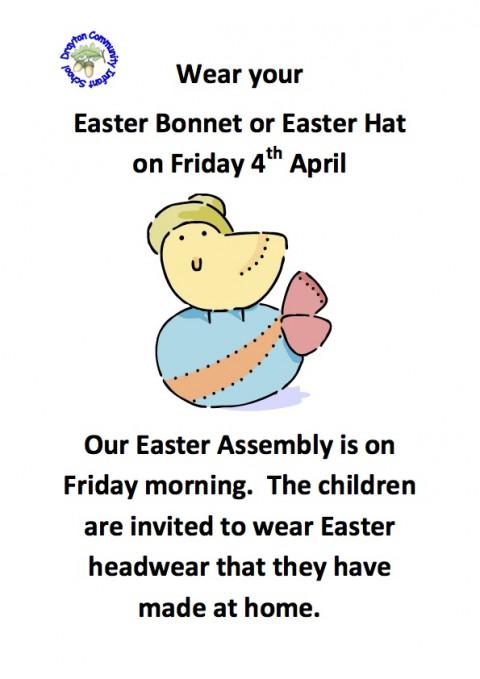 Easter Bonnet Poster