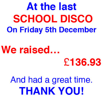 School Disco We Raised