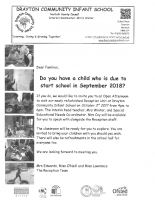 Open Afternoon Letter
