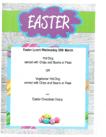 Easter Lunch 28th March 2018