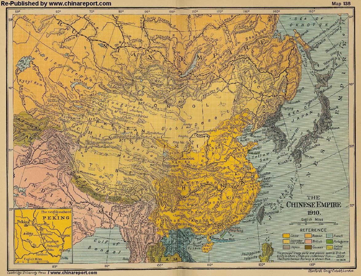 Ancient Map Of China
