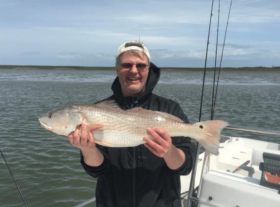 Dr Brian Stork fishing