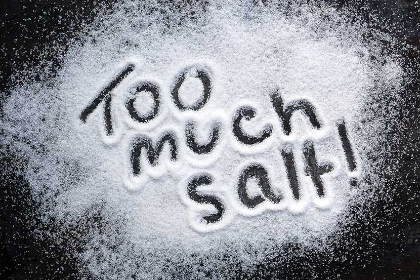 six salty foods that