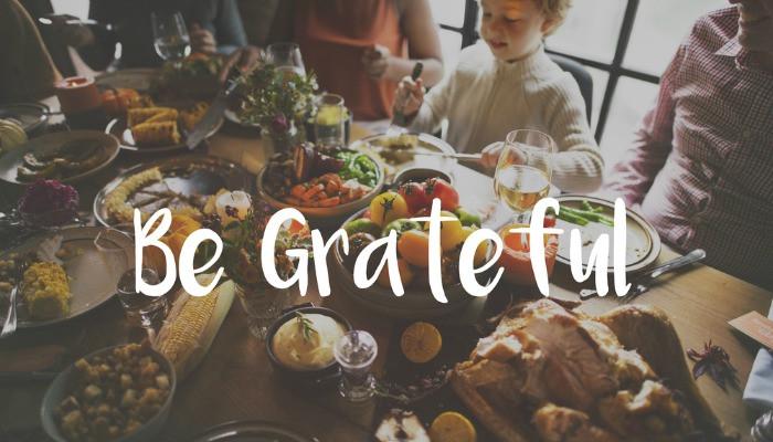 pressure to be grateful