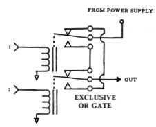 Relay Logic Diagram Of Xor Gate