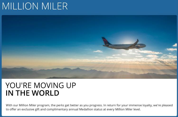 Delta Million Miler Status – sevenR