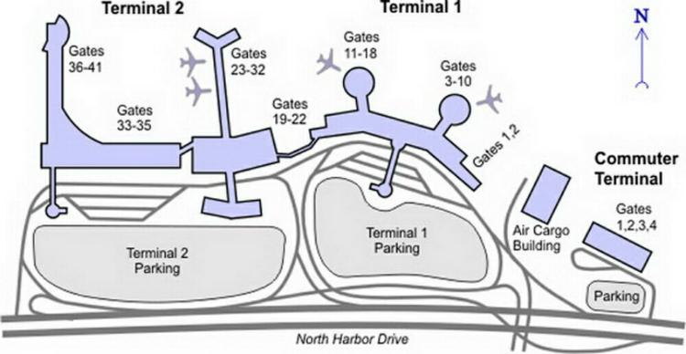 Delta Sky Club San Diego International Airport Terminal
