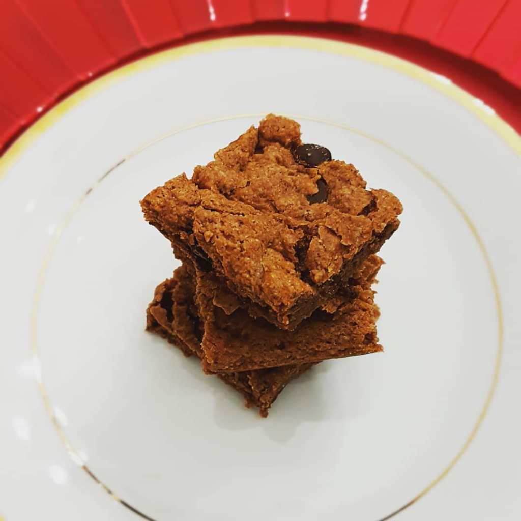 Double Chocolate Chip Cookie Bars