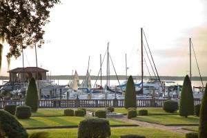 Wedding Venue: Epping Forest Yacht & Country Club. Jacksonville, FL.