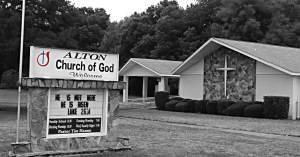 Wedding Venue: Alton Church of God, Mayo, FL