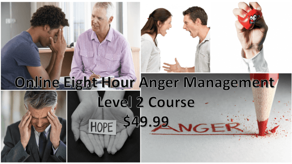 Eight Hour Anger Management Counseling