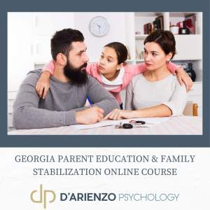 GA parent education and family stabilization Course