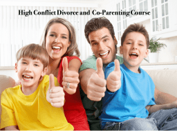High Conflict Coparenting Course
