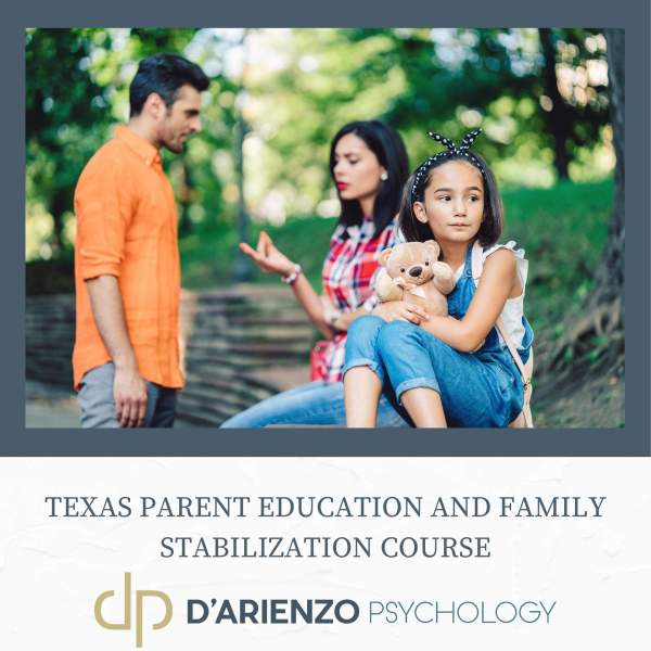 TX parent education and family stabilization course