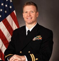 Navy Psychologist Dr. Justin D'Arienzo