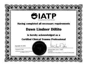 Certified Trauma Therapist Jacksonville