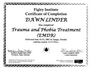 EMDR Trauma Therapist