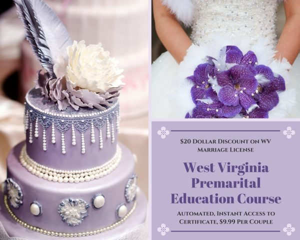West Virginia marriage license discount