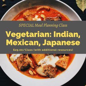 Vegetarian Global Class