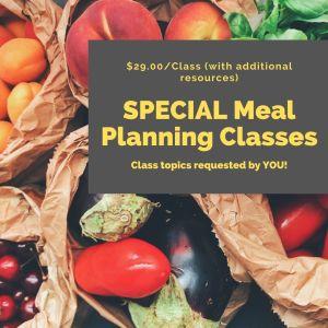 Special Classes
