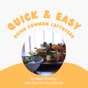 Quick and Easy Using Common Leftovers