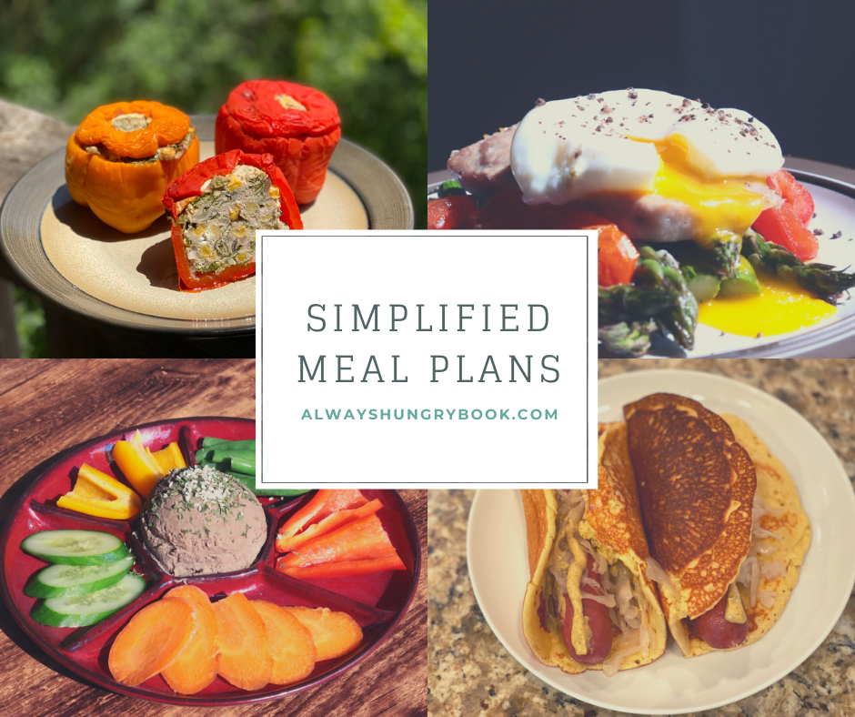 Simplified Meal Plans Header Photo