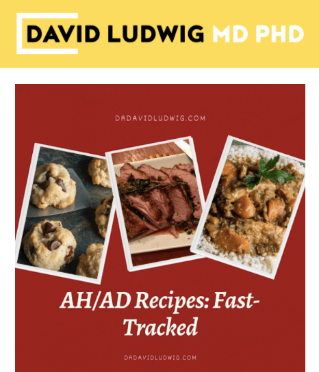 AH:AD Recipes Fast Tracked Newsletter
