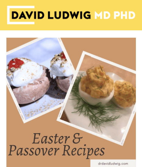 Easter and Passover Recipes Newsletter