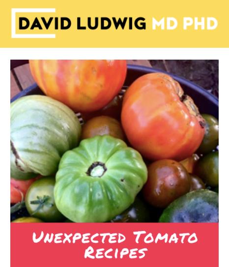 Tomato recipes Newsletter