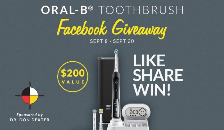 Eugene Dentist Dr. Dexter's Oral-B® Black 7000 SmartSeries Power Toothbrush with Bluetooth® Giveaway