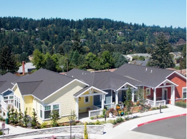 Rose Villa Senior Living, located just outside of Portland, Oregon, has made a point of welcoming LGBT elders. The community, which offers independent and assisted living, also has a nursing home on site.