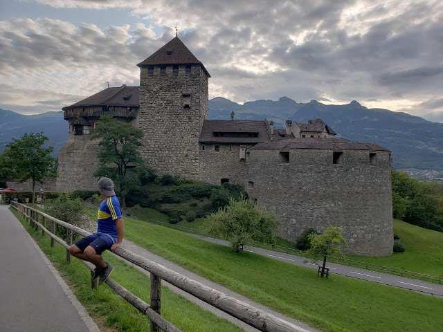 Castelo de Vaduz. Atração principal do país
