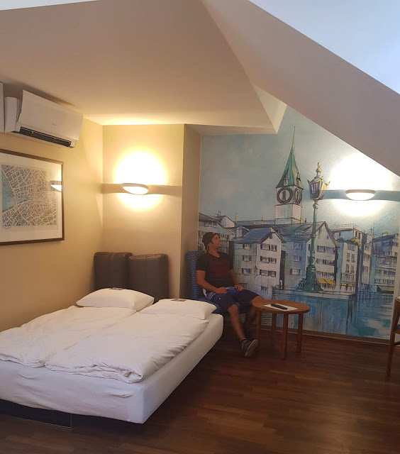 Quarto do hotel Adler