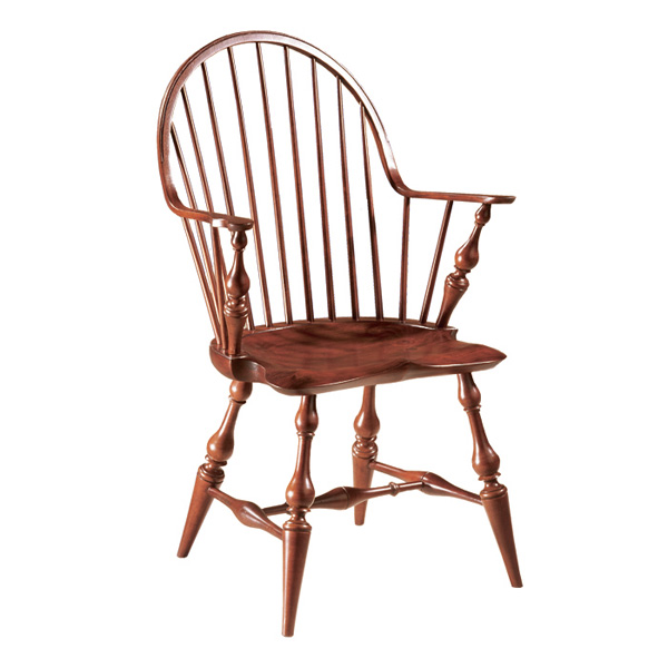 windsor chair with arms spongebob table and chairs d r dimes continuous arm 18th century antique reproduction