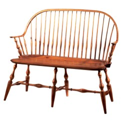 Dr Dimes Windsor Chairs World Market Adirondack Reviews D.r.dimes Continuous Arm Bench - Chairs: Benches & Settees