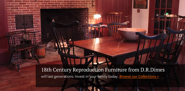 windsor kitchen chairs wheelchair with pedals handmade furniture colonial american 18th century reproduction