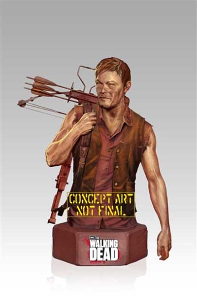 Gentle Giant Announces The Walking Dead Daryl Dixon Mini Bust