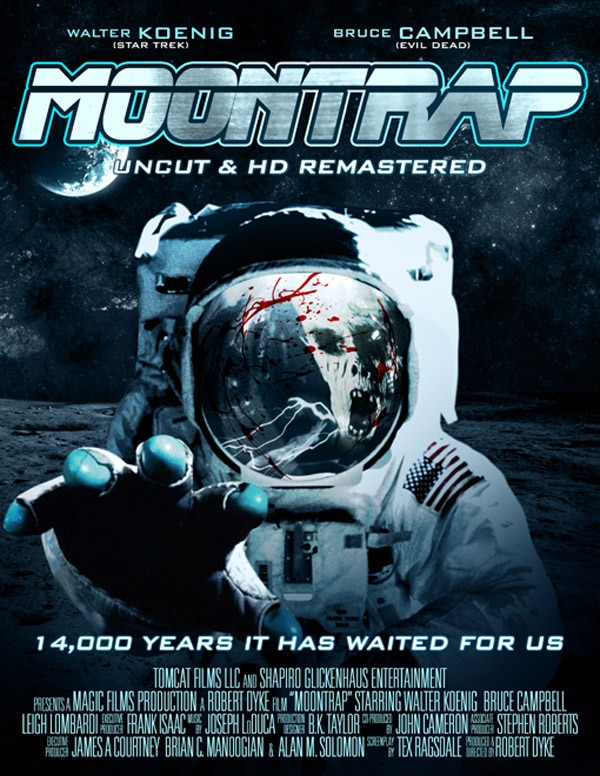 Bruce Campbell Sci-Fi Chiller Moontrap Getting a 25th Anniversary Blu-ray; Sequel Coming Next Year