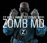 New 7A Toys Art Figure Introduces You to ZOMB MD